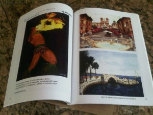 Bj. deCastro's artwork in BOA Watermedia book.