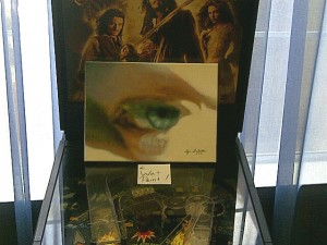The Artist's Eye, self-portrait by Bj. deCastro