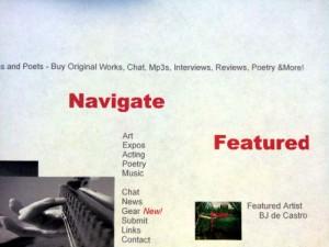 Bj. deCastro is Featured Artist